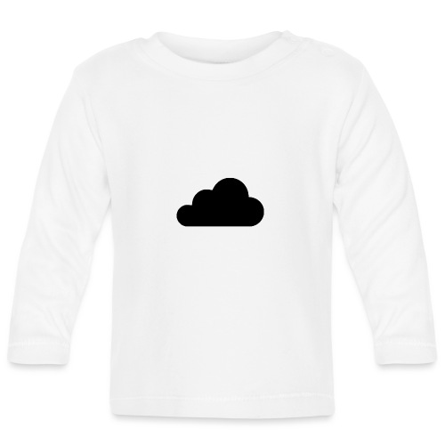 cloud white - Baby Long Sleeve T-Shirt