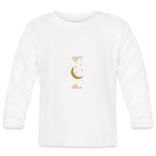 Ramadan Kareem Muslim holy month ilustration - Baby Long Sleeve T-Shirt