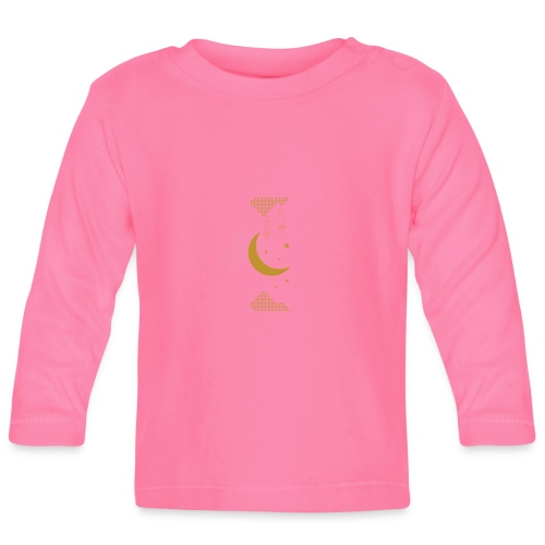 Ramadan Kareem Muslim holy month ilustration - Baby Long Sleeve T-Shirt