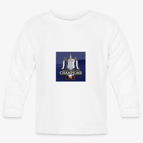 MFC Champions 2017/18 - Baby Long Sleeve T-Shirt