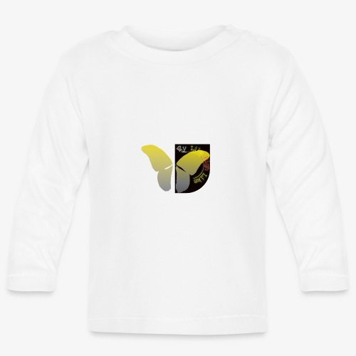 Butterfly high - Baby Langarmshirt