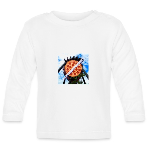 Old McPizzaPerson Logo #2 - Baby Long Sleeve T-Shirt