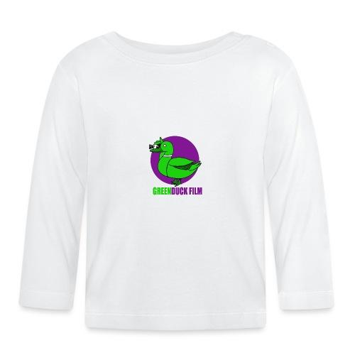 Greenduck Film Purple Sun Logo - Langærmet babyshirt