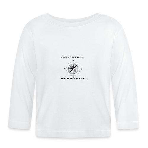 ELIJE TU CAMINO - Camiseta manga larga bebé