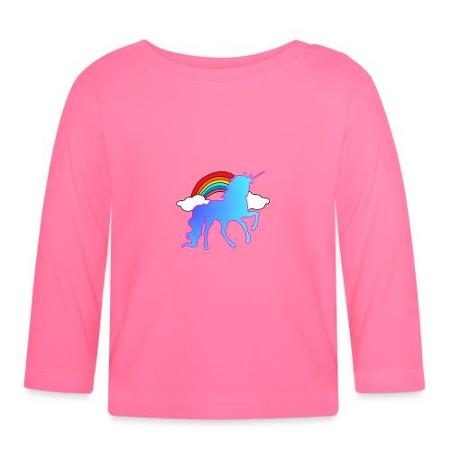 Einhorn Design - Baby Langarmshirt