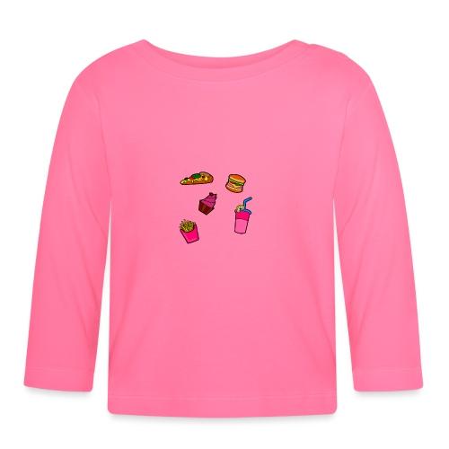 Fast Food Design - Baby Langarmshirt