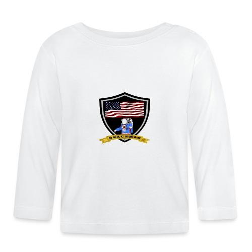 Spaceman Design - Baby Langarmshirt