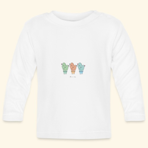 Third eye cactus - Maglietta a manica lunga per bambini