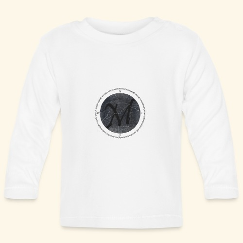 Montis logo2 - Långärmad T-shirt baby