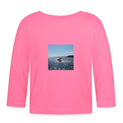 Mer avec roches - T-shirt manches longues Bébé