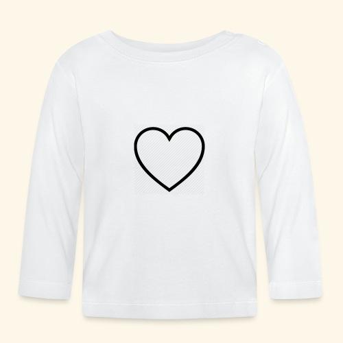 heart 512 - Langærmet babyshirt