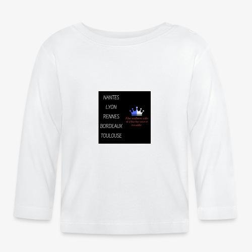 Meilleures villes de France - T-shirt manches longues Bébé