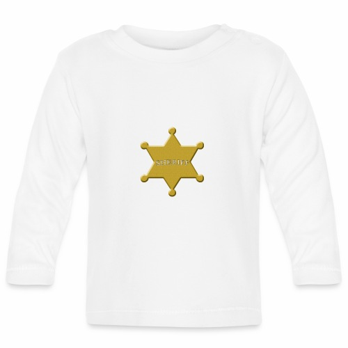scheriff - Baby Langarmshirt