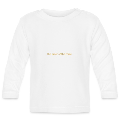 the order of the three 1st shirt - Baby Long Sleeve T-Shirt
