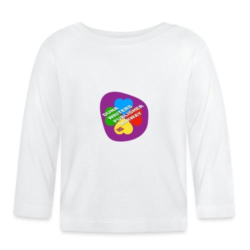 Duna Writers - Langarmet baby-T-skjorte