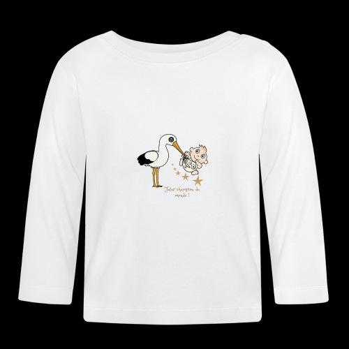 Foot futur champion - T-shirt manches longues Bébé