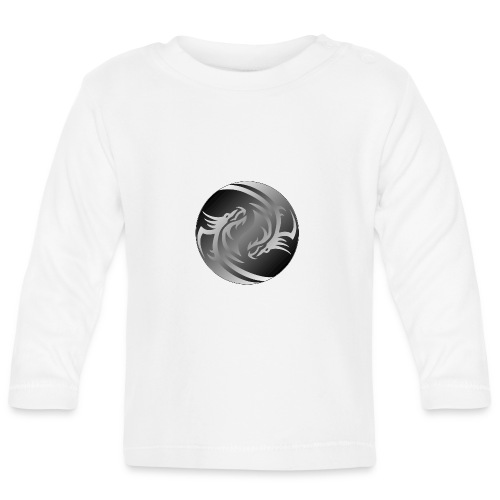 Yin Yang Dragon - Baby Long Sleeve T-Shirt