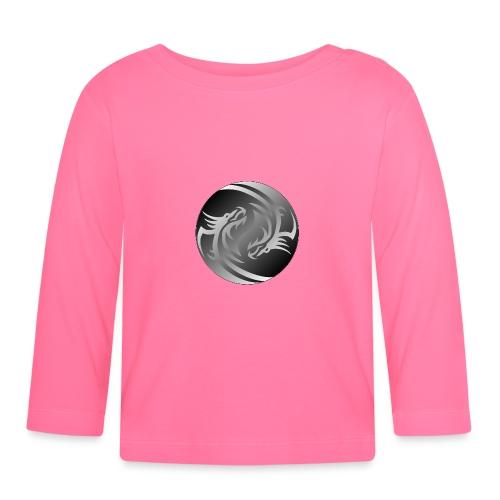 Yin Yang Dragon - Baby Long Sleeve T-Shirt