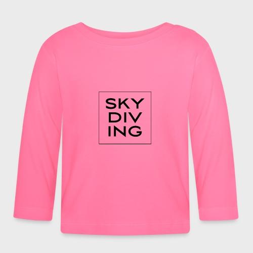 SKY DIV ING Black - Baby Langarmshirt