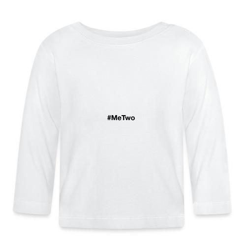 #MeTwo ist das Hashtag gegen Rassismus im Alltag - Baby Langarmshirt