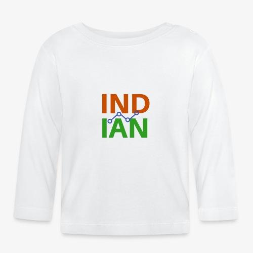 INDIAN CUSTOMISED TSHIRT - Långärmad T-shirt baby