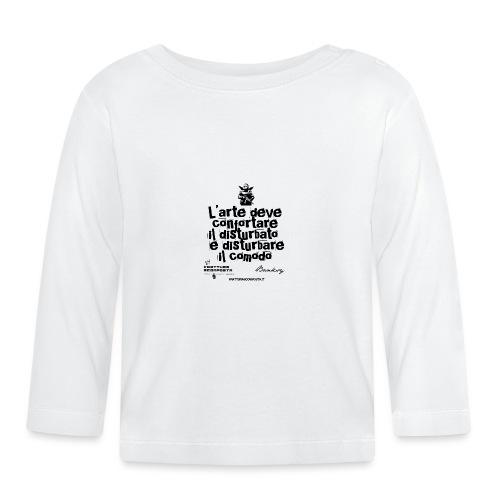 Aforisma Banksy - Maglietta a manica lunga per bambini
