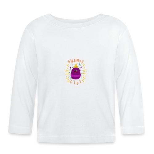 Geburtstagskind Mädchen - Baby Langarmshirt