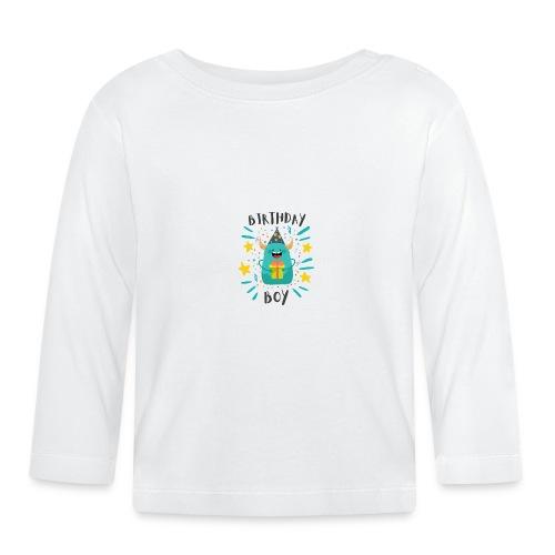 Geburtstagskind Junge - Baby Langarmshirt