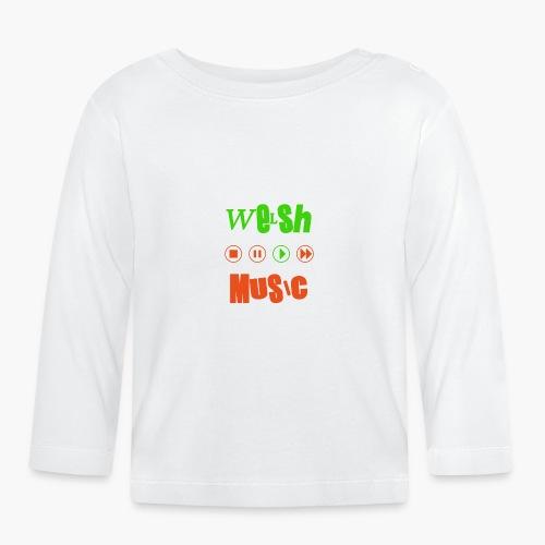 Welsh Music - Baby Long Sleeve T-Shirt