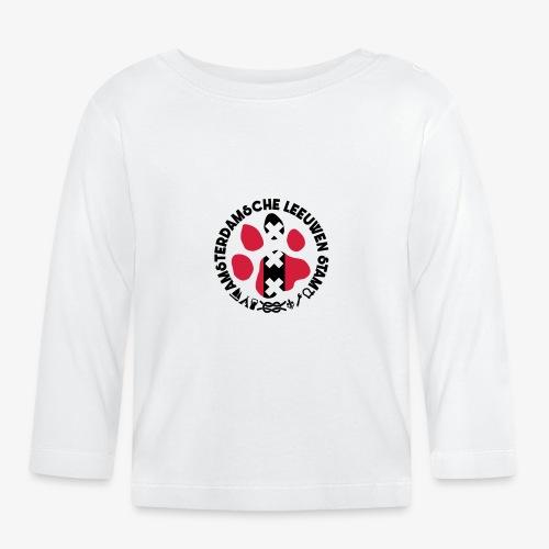 ALS witte cirkel lichtshi - T-shirt