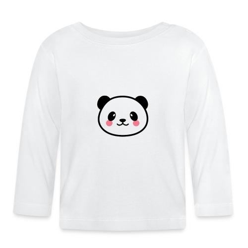 Panda Tout Rond - T-shirt manches longues Bébé