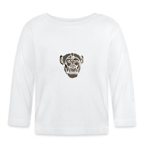monkey-spread - T-shirt manches longues Bébé