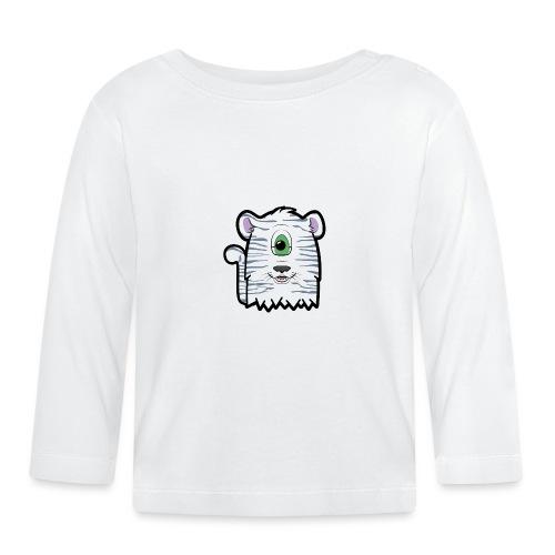Furly Weisser Tiger - Baby Langarmshirt