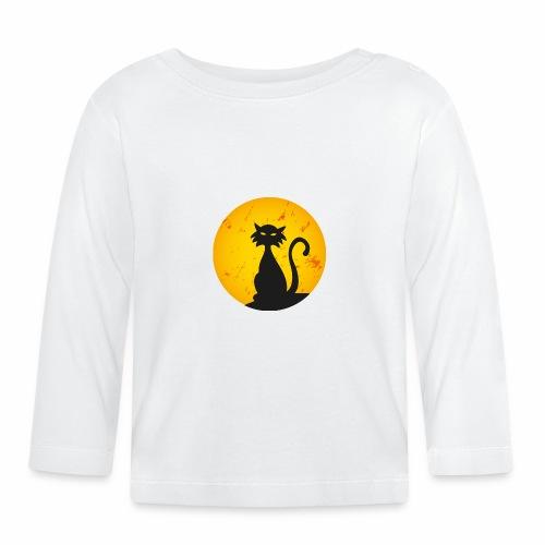 LA LUNA E IL GATTO 2 - THE CAT AND MOON 2 - Maglietta a manica lunga per bambini