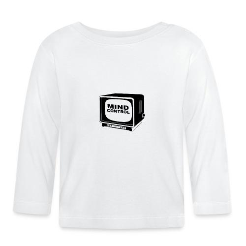Mind Control Fernseher - Baby Langarmshirt