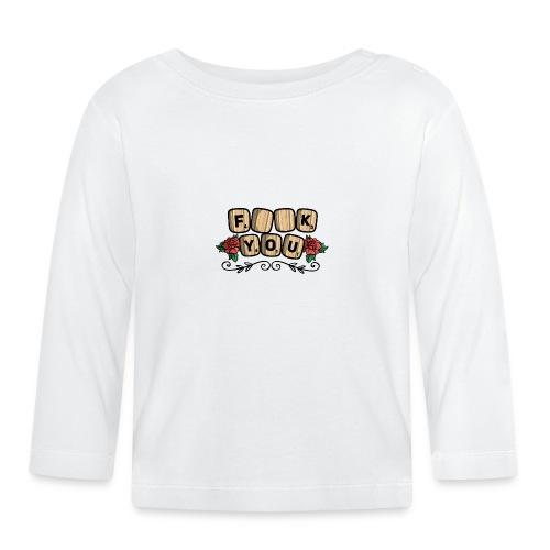 Fuck you Brettspiel - Baby Langarmshirt