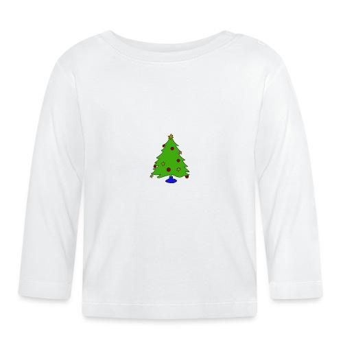 Weihnachtsbaum - Baby Langarmshirt