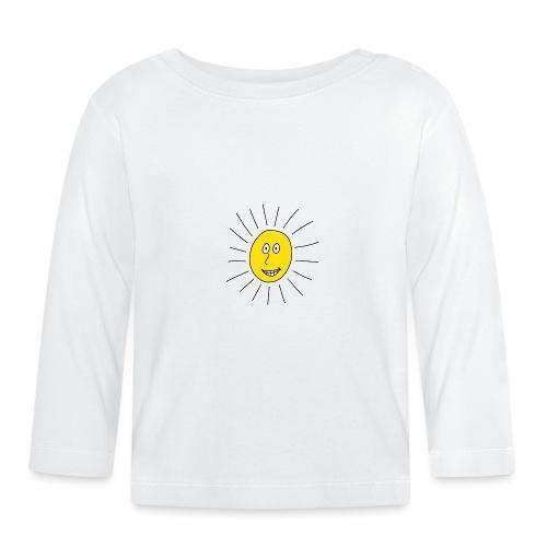 strahlende Sonne - Baby Langarmshirt