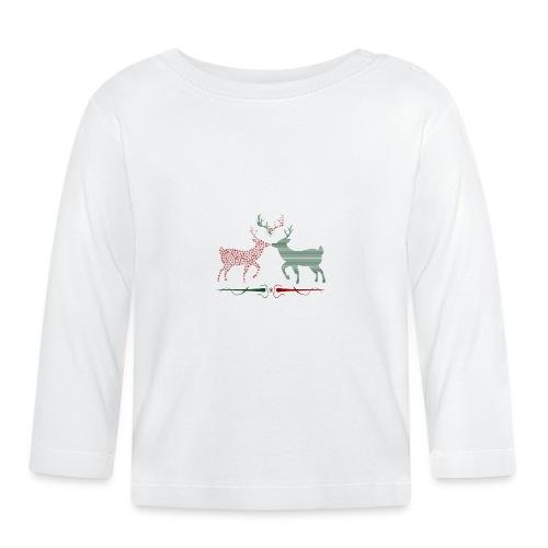 Christmas deer - Baby Long Sleeve T-Shirt