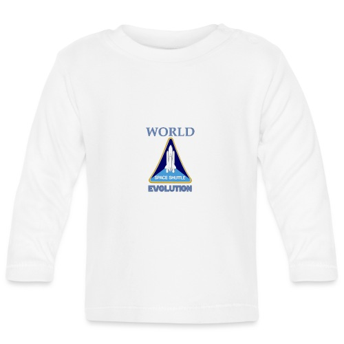 World evolution. - Camiseta manga larga bebé