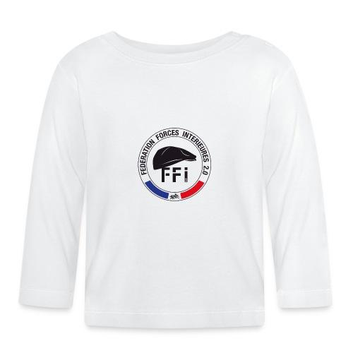 FFi beret NOIR - T-shirt manches longues Bébé
