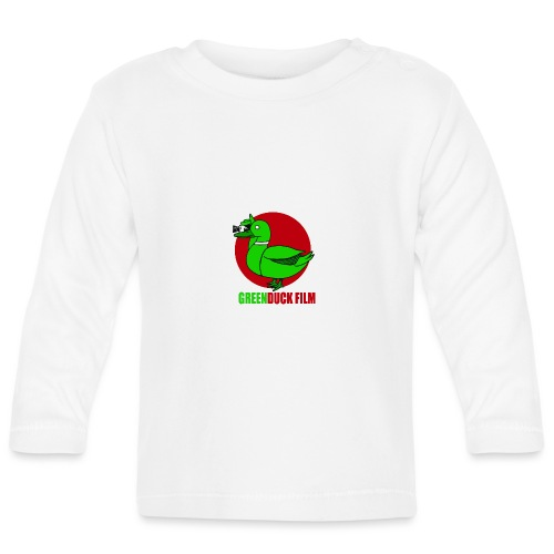 Greenduck Film Red Sun Logo - Langærmet babyshirt