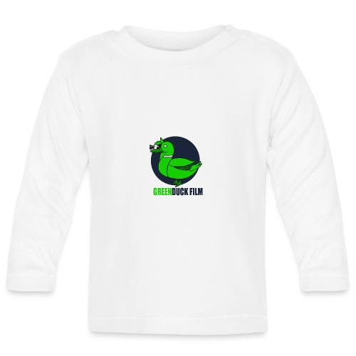 Greenduck Film Dark Blue Logo - Langærmet babyshirt