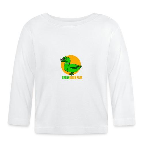 Greenduck Film Golden Sun Logo - Langærmet babyshirt