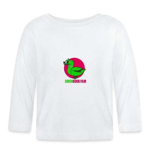 Greenduck Film dark pink Sun Logo - Langærmet babyshirt