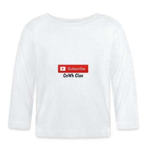 Subscribe CnWh Clan Merch - Långärmad T-shirt baby