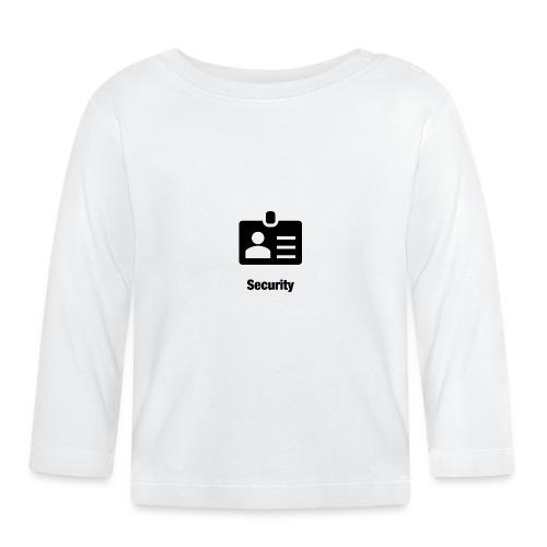 Security - Baby Langarmshirt