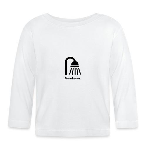 Warmduscher - Baby Langarmshirt
