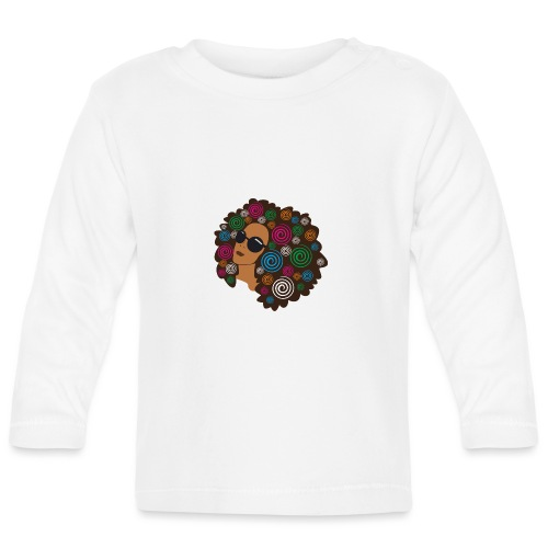 big_bold_afro - Baby Long Sleeve T-Shirt