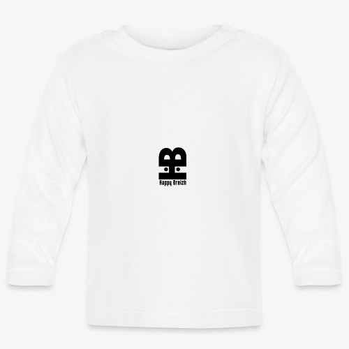 happy breizh logo - T-shirt manches longues Bébé